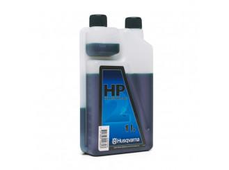 Olej pre dvojtaktné motory, Husqvarna HP, dávkovacia nádoba 1 liter (balenie 12 ks)