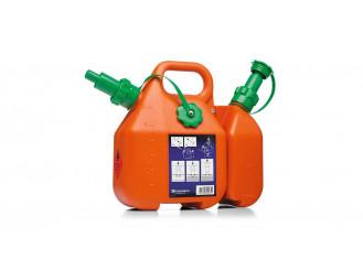 Kombinovaný kanister na benzín a olej