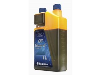Olej Husqvarna Oilguard pre dvojtaktné motory, dávkovacia nádoba, 1 liter