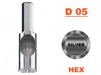 Jadrový vrták Vari-Drill D 05, Konektor HEX, 25 mm