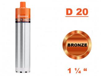 "Jadrový vrták Tacti-Drill D 20, Konektor 1 1/4"""
