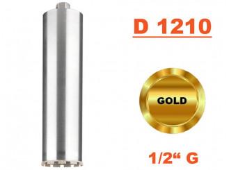 """Jadrový vrták tenkostenný D 1210, Konektor 1/2"""" G"""