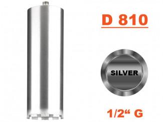 """Jadrový vrták tenkostenný D 810, Konektor 1/2"""" G"""